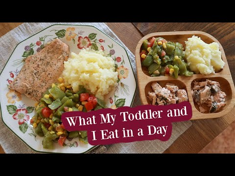 What My Toddler And I Eat In A Day (Gluten Free, Quick & Easy Real Food)