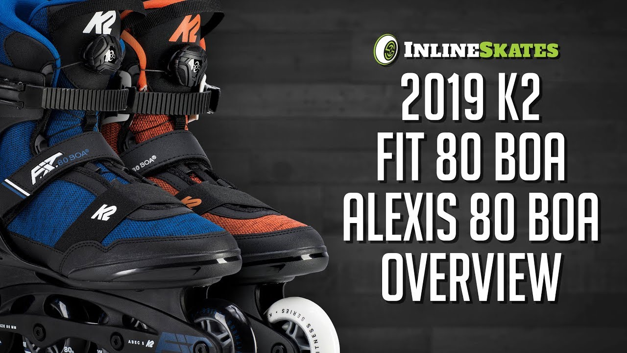 K2 Skate Womens Alexis 80 Pro Inline Skates