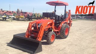 2019 Kioti CK2610 HST Compact Tractor with KB2475L Backhoe: Full in Depth Review
