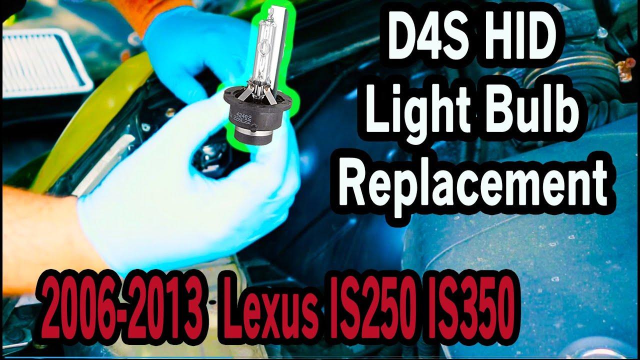 2009 Lexus Is250 Headlight BulbNEW Black Smoke 2006 2010