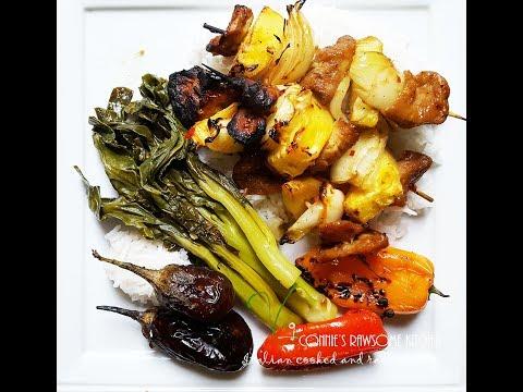 PART 2 – VEGAN – ASIAN BBQ – NEW SEITAN RECIPE – bonus recipe! | Connie's RAWsome kitchen