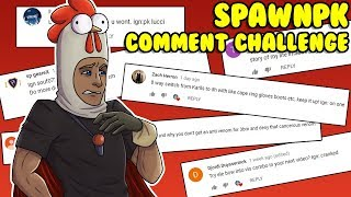 I CANT BELIEVE THIS ACTUALLY WORKED!! (Comment Challenge #1) - BIG GIVEAWAY! - SpawnPk RSPS