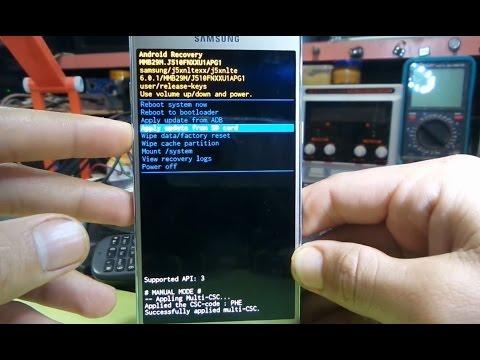 How To Hard Reset Samsung Galaxy J5 (2016) - J510F hard reset