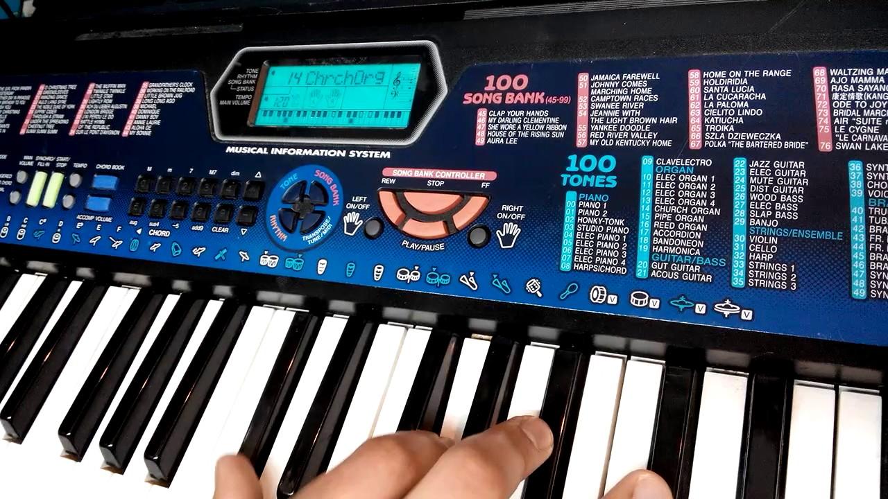 Learn music on keyboard