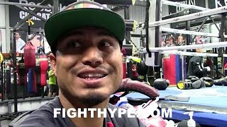MIKEY GARCIA EXPLAINS WHY FIGHTERS QUIT AGAINST LOMACHENKO; NOTES OPPONENT SIZE & INACTIVITY