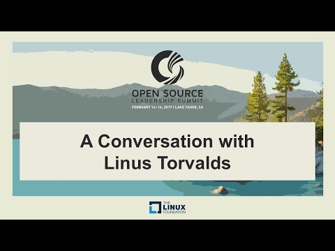 Keynote: A Conversation with Linus Torvalds