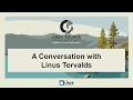 Keynote: A Conversation with Linus Torva