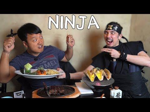 MYSTICAL FOOD at NINJA Themed Restaurant in New York