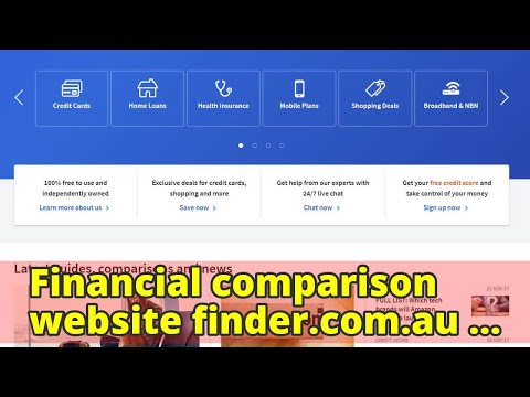 Financial comparison website finder.com.au fined for misleading consumers