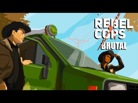 Rebel Cops Gameplay Overview/Walkthrough   PC XCom Style Game   Brutal - Part 2
