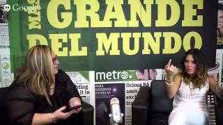 #MetroChat con Kany García
