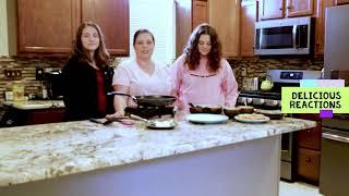 Delicious Reactions Cheesy Pepperoni Quesadilla