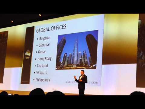 Dubai. Marina Conferences Hall, OneCoin-GOLD RUSH! ( ENG) 15/05/2015