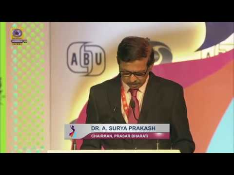 Chairman Prasar Bharati A. Surya Prakash addressed at ABU IDF 2019
