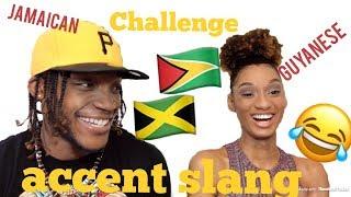 JAMAICAN VS GUYANESE SLANG CHALLENGE!!