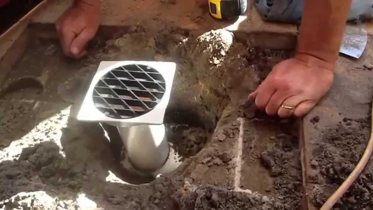 Pvc Drain Install To Existing Storm Pipe Youtube
