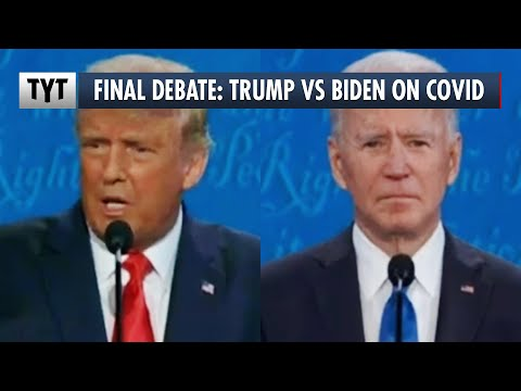 Final 2020 Presidential Debate: Trump vs Biden on Covid