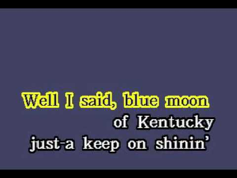 DK089 09   Presley, Elvis   Blue Moon Of Kentucky [karaoke]