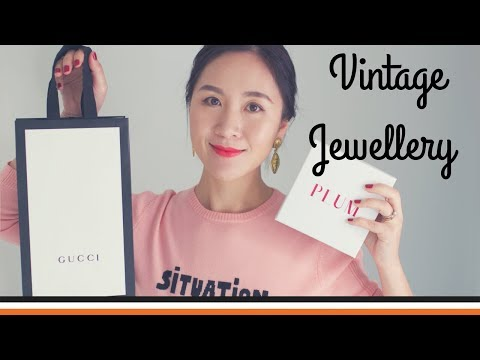 近期購入古著/復古飾品 | Vintage Jewellery Haul | HiBarbie
