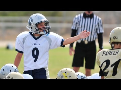 10 Year Old Quarterback - Passing Highlights of Ryan Hicks # 9