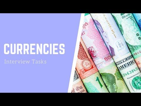 Решаем задачу про валюты с JavaScript собеседования