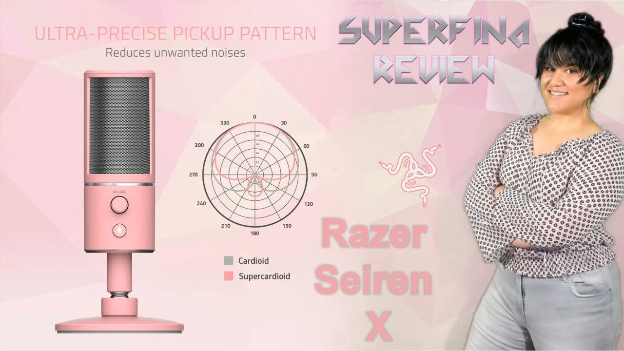 Razer Seiren X: Test/Experiments Review