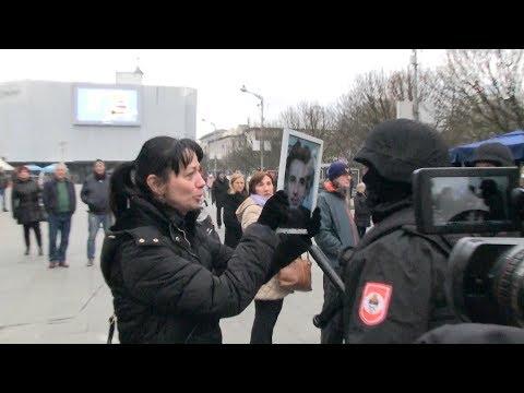 Verbalni sukob Suzane Radanović, majke Davida Dragičevića, sa policijom