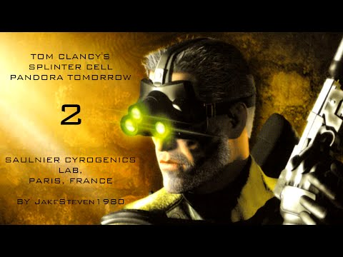 Tom Clancy's Splinter Cell: Pandora Tomorrow - Saulnier Cryogenics Lab (Redone)