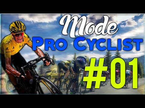 Pro Cycling Manager 2017 | Mode PRO CYCLIST #01 : GAGNER LE TOUR DE FRANCE !!