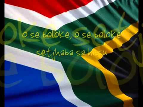 South Africa National Anthem.
