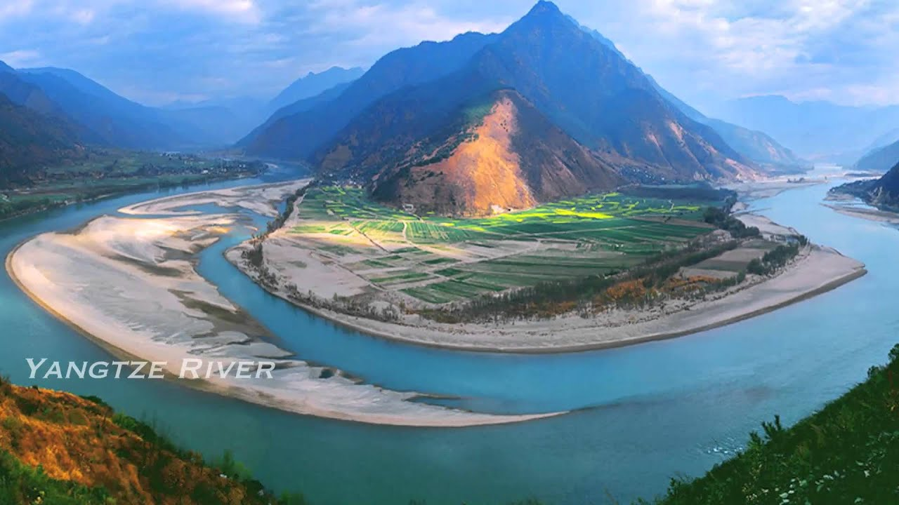 Yangtze River World Largest River River YouTube - Longest river on earth