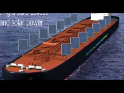 Ships to run on solar power