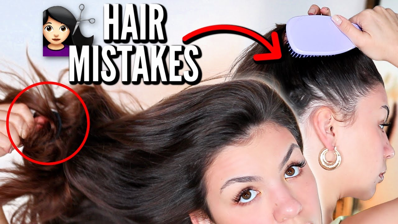 Haircare Mistakes That Are Damaging Your Hair   Common Hair Mistakes To Avoid