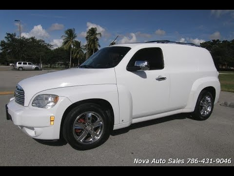 For Sale 2009 Chevrolet Hhr Lt Panel With Rear Seats Youtube