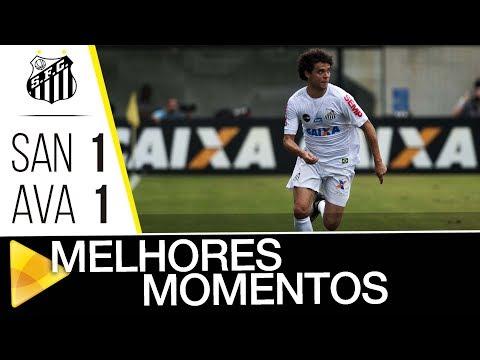 Santos 1 x 1 Avaí | MELHORES MOMENTOS | Brasileirão (03/12/17)