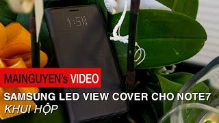 khui hop samsung led view cover cho galaxy note7 - wwwmainguyenvn