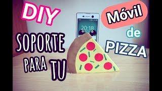 Soporte para tu móvil (teléfono,celular) DE PIZZA,DIY- ANNIBLUE