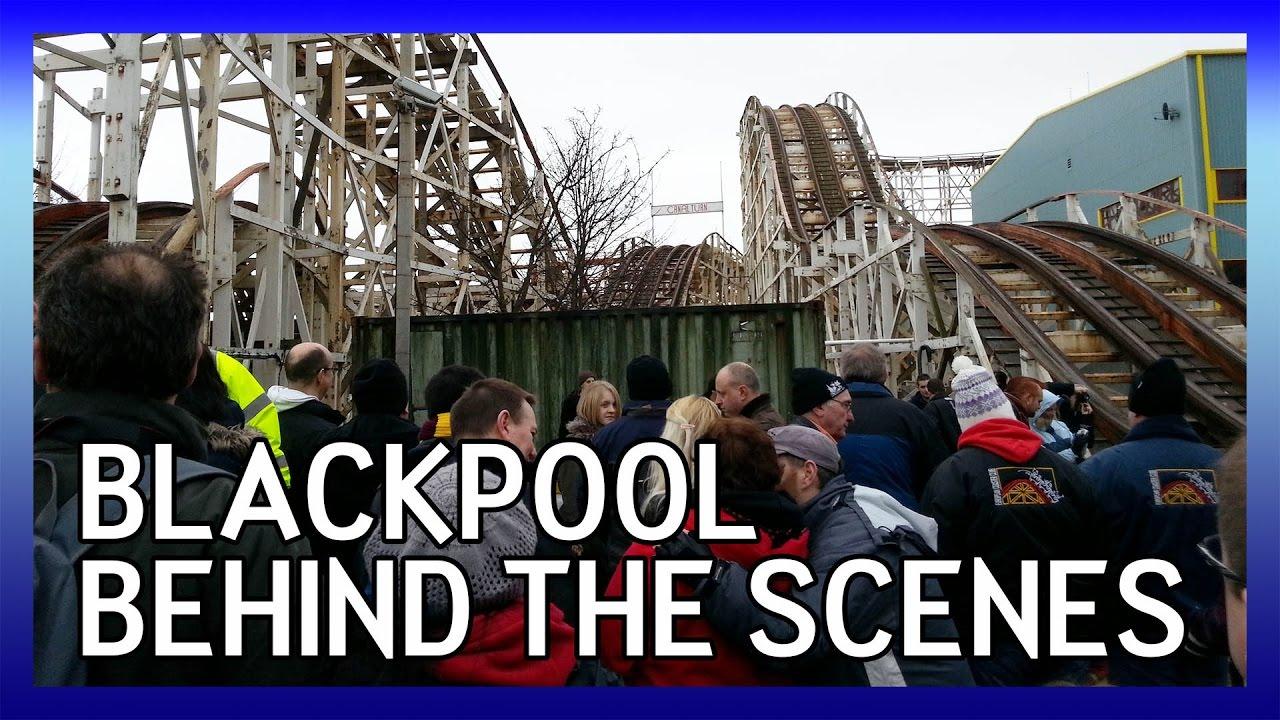 Behind the Scenes at Blackpool Pleasure Beach: ECC ACM 2013