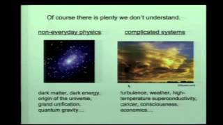 Sean Carroll: From Particles to People: The Laws of Physics and the Meaning of Life