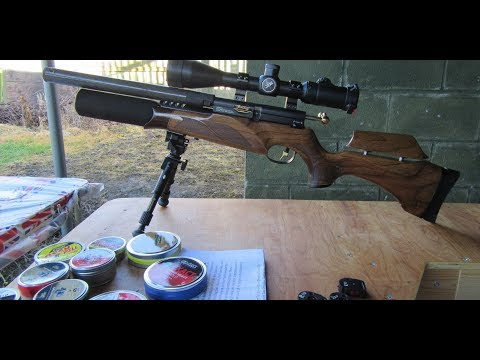 The John Bowkett blue print tuned BSA R10 SE  22 rifle 15-12-17