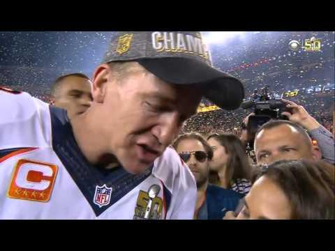 Peyton Manning on Winning Super Bowl 50, 'I'm Very Grateful'  Panthers vs. Broncos  NFL