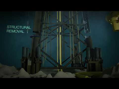 James Fisher Offshore decommissioning animation