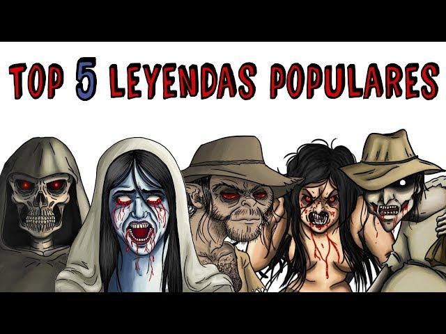 TOP 5 LEYENDAS POPULARES | Draw My Life La Llorona, Patasola, El Silbón, La Santa Compaña El Pombero