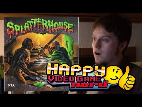 Splatterhouse Retrospective Part 1 of 2 (TG16) | Happy Video Game Nerd