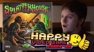 Splatterhouse Retrospective Part 1 of 2 (TG16) | Happy Video Game Nerd