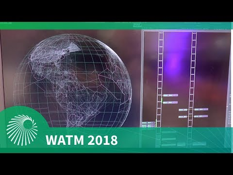 WATM 2018: Azimut 'Galaxy' three dimensional Air Traffic Management System