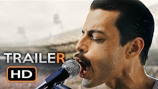 BOHEMIAN RHAPSODY Official Trailer 2 (2018) Rami Malek, Freddie Mercury Queen Movie HD