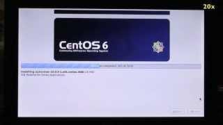 Comment installer CentOS 6.3 sur un netbook Asus Eee PC 900HD