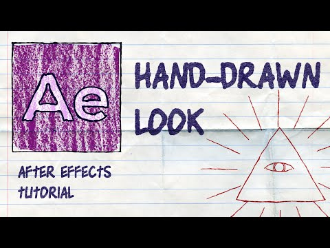 After Effects: Hand Drawn Style for Shape Layers and Text
