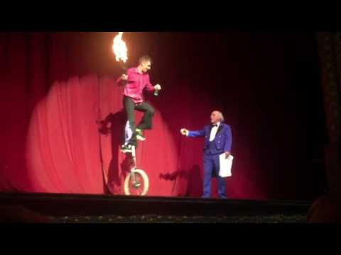 Danny Adams & Clive Webb Circus Hilarious Tyne Theatre 21016 Smile for A Night Variety